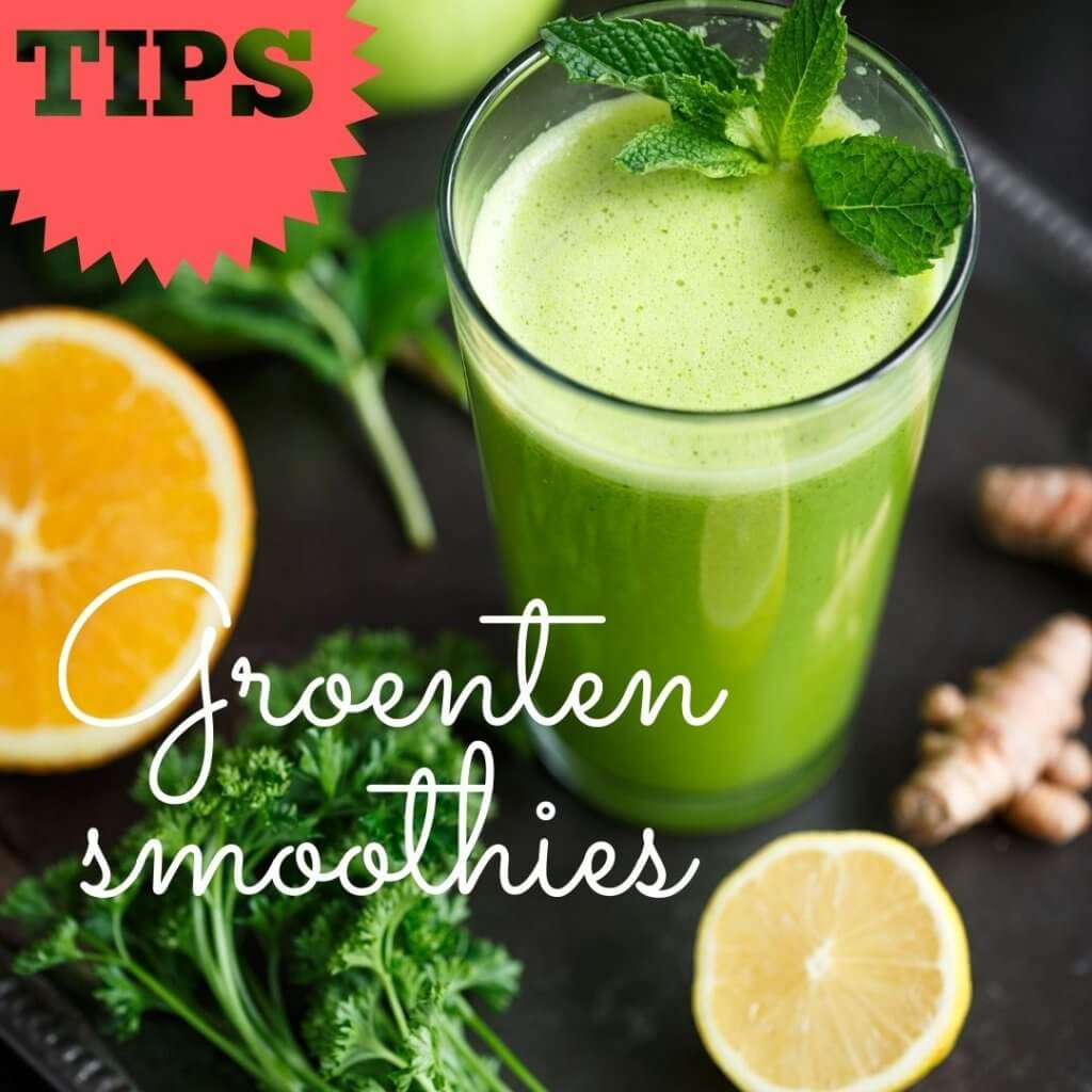 alkaliserende Groenten smoothies