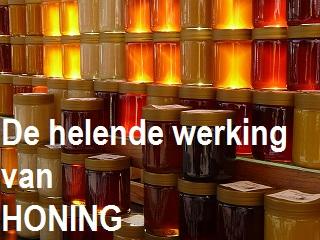 heilzame werking honing