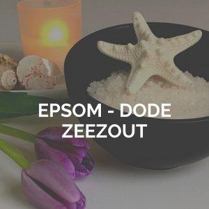 epsom zout en dode zeezout