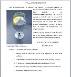 alkalisch water maken voorbeeld ebook