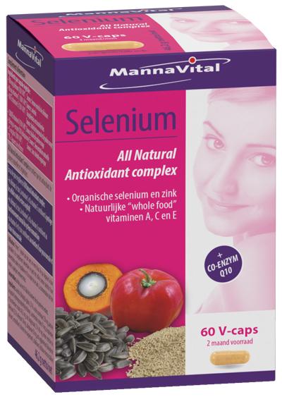 Selenium vitamine complex MannaVital