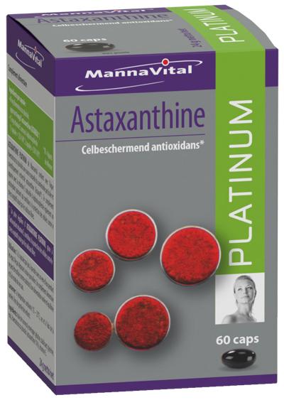 Astaxanthine antioxidant
