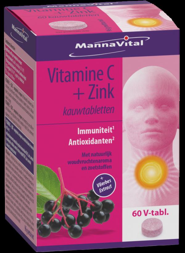Vlier vitamine C zink Mannavital