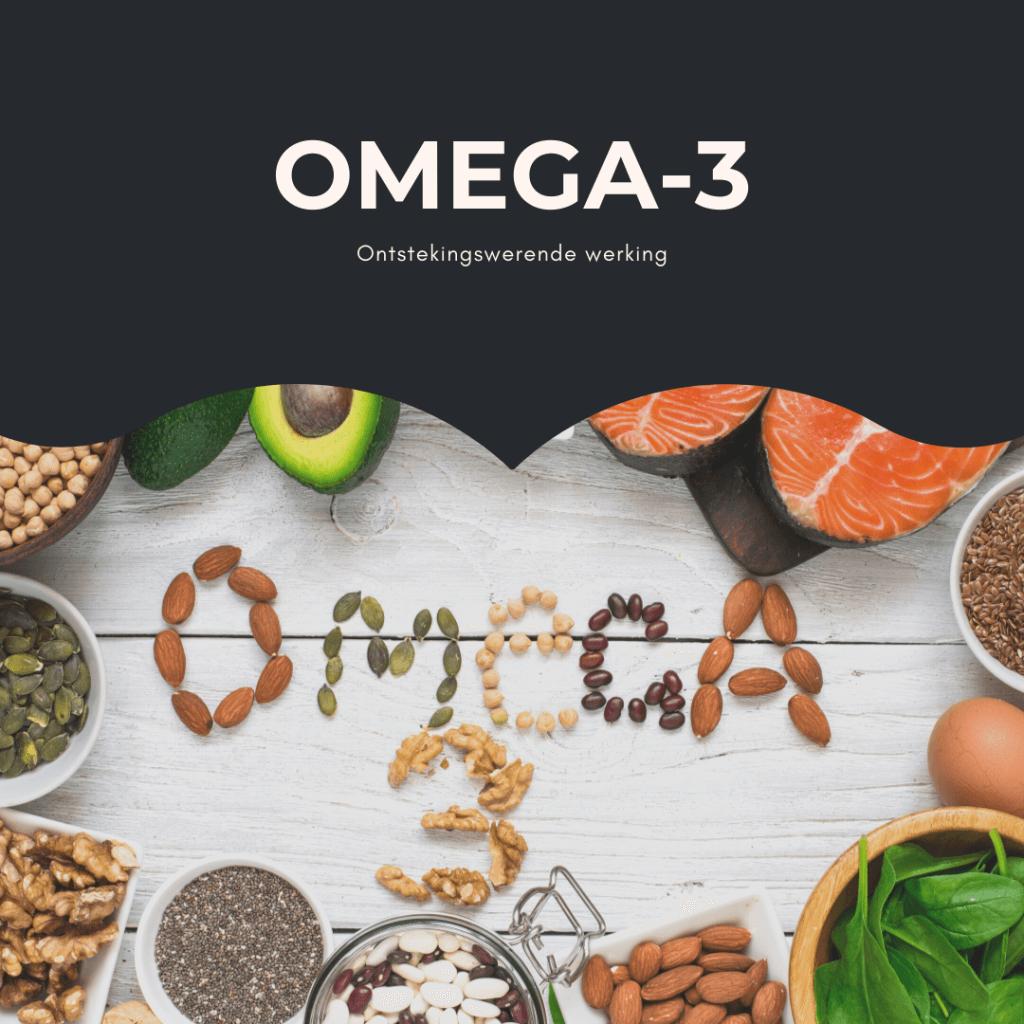 Omega-3 ontstekingsremmende werking