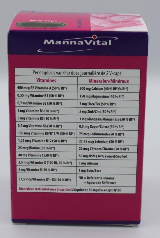 vitamine supplement kopen Mannavital