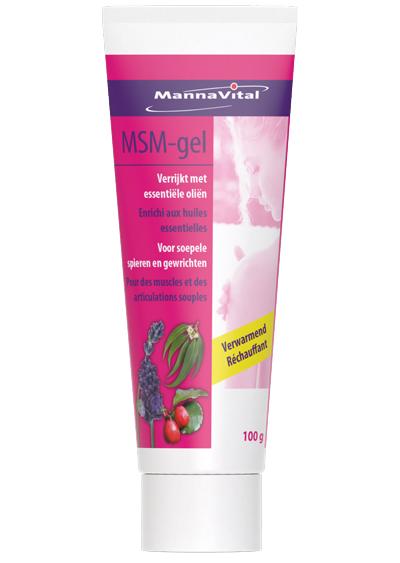 MSM gel MannaVital