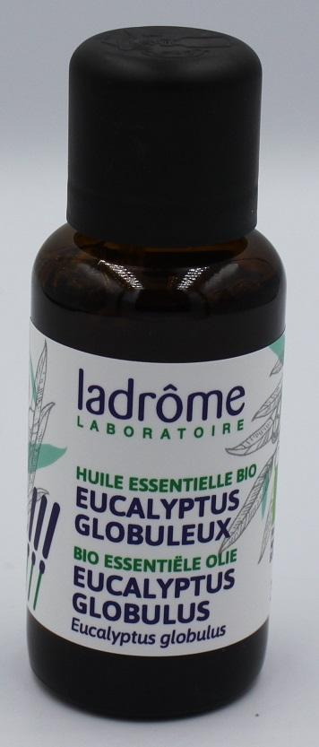 Eucalyptus globulus bio etherishe olie Ladrome