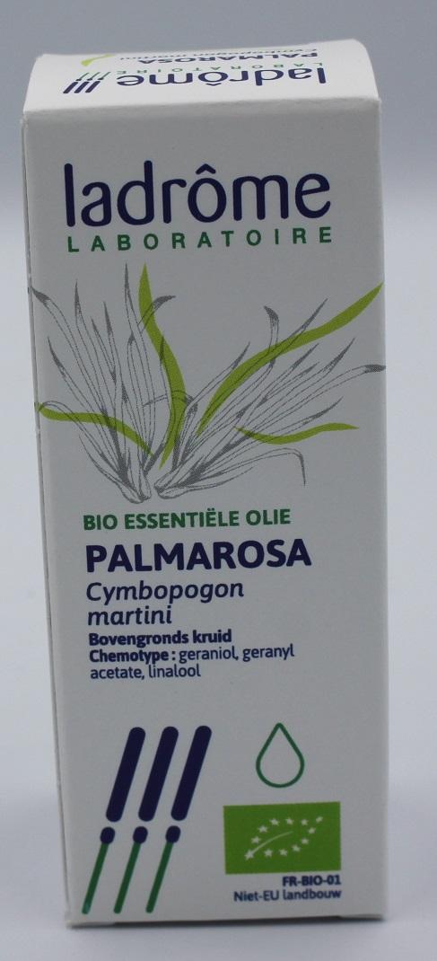Palmarosa bio essentiële olie Ladrome