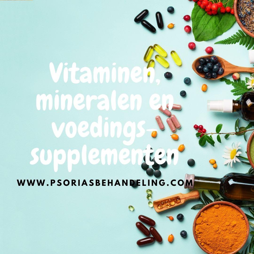 voedingssupplementen voor psoriasispatiënten