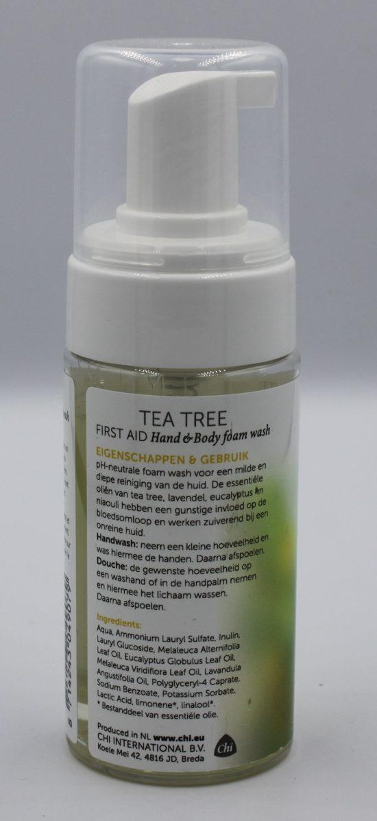 Achterkant tea tree handen wassen kopen