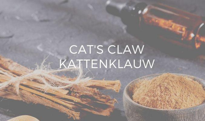 Kattenklauw katsklauw cats claw voedingssupplement