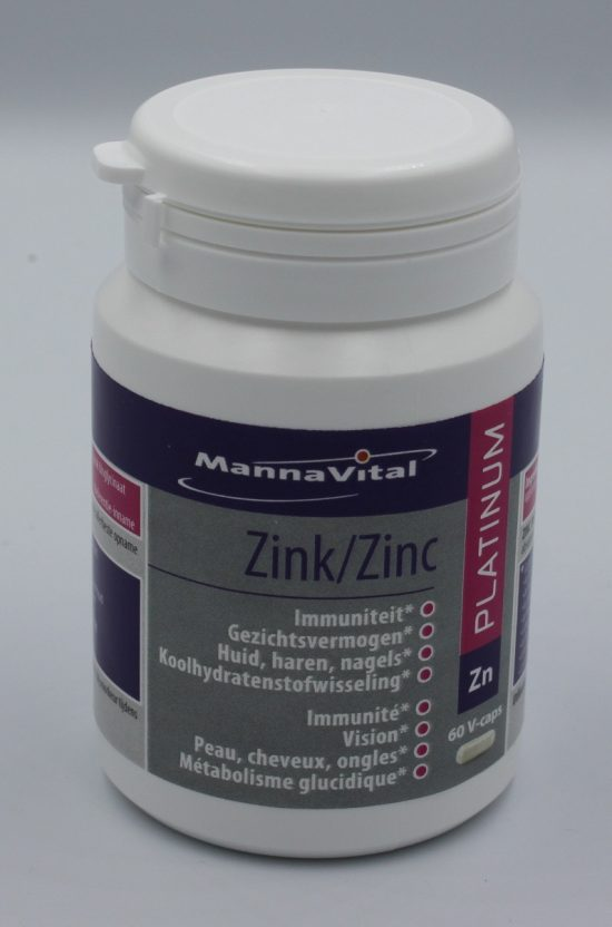 Mannavital zink supplement