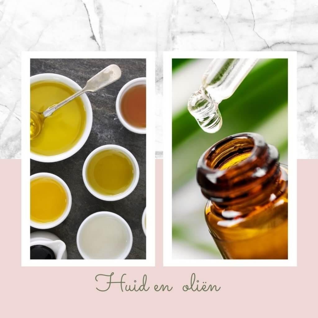 Oliën voor de huid met psoriasis