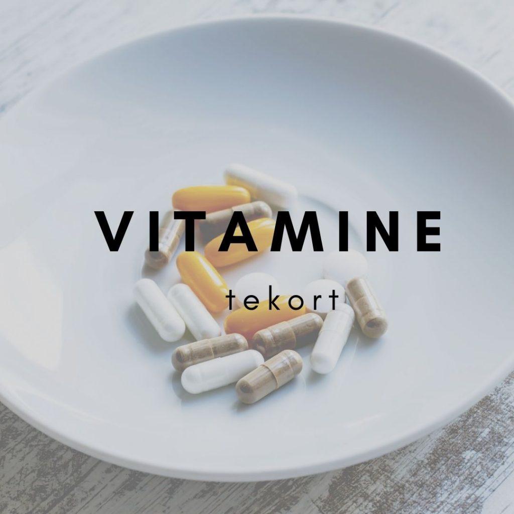 Actieve kool kan zorgen voor een vitaminegebrek