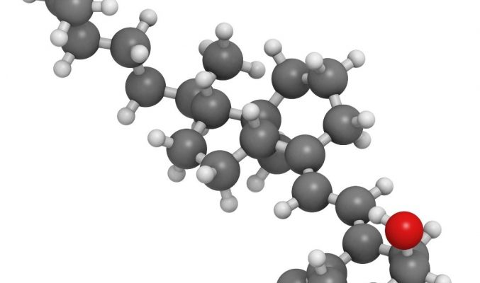 Vitamine D3 structuur